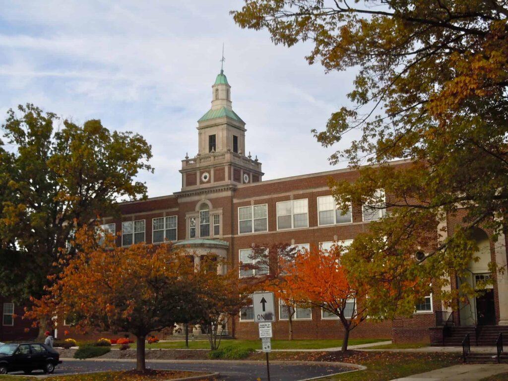 the Rittenhouse school in Montgomery county, pa